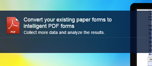 Intelligent PDF Forms