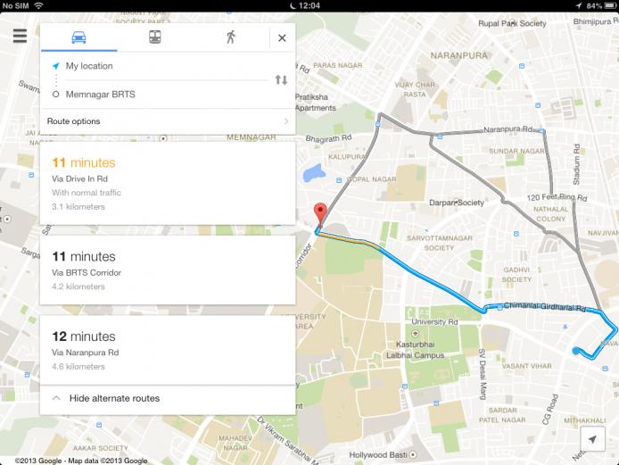 Google Maps Reroute Traffic