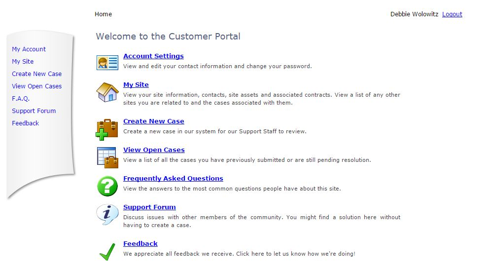 Customer Portal 2
