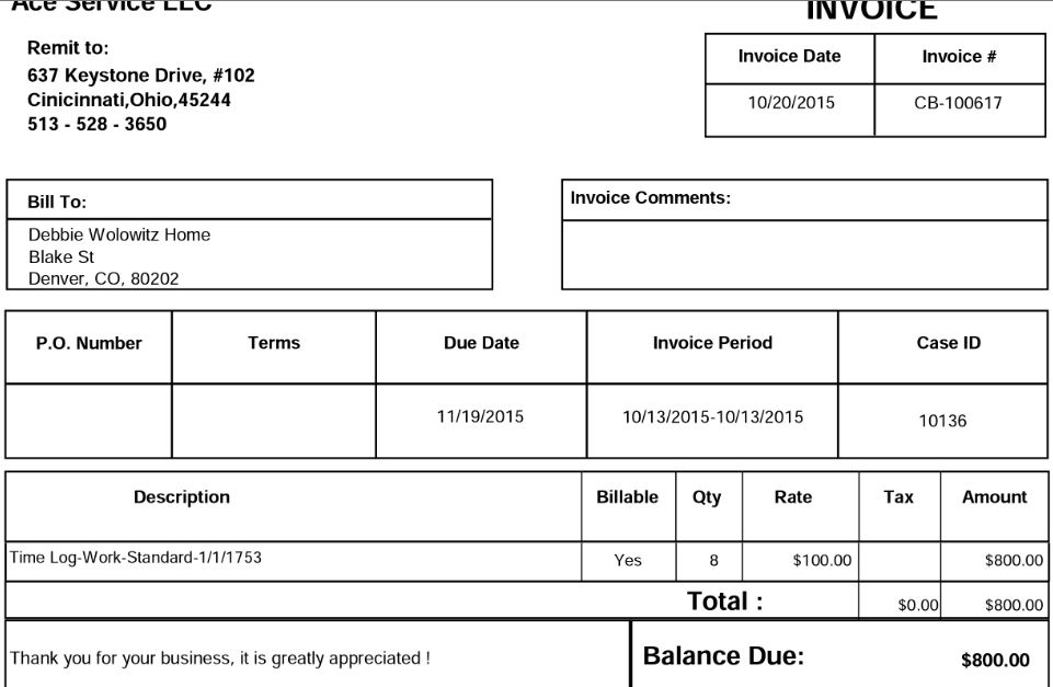 Mobile Invoice 1  Invoice Bill To