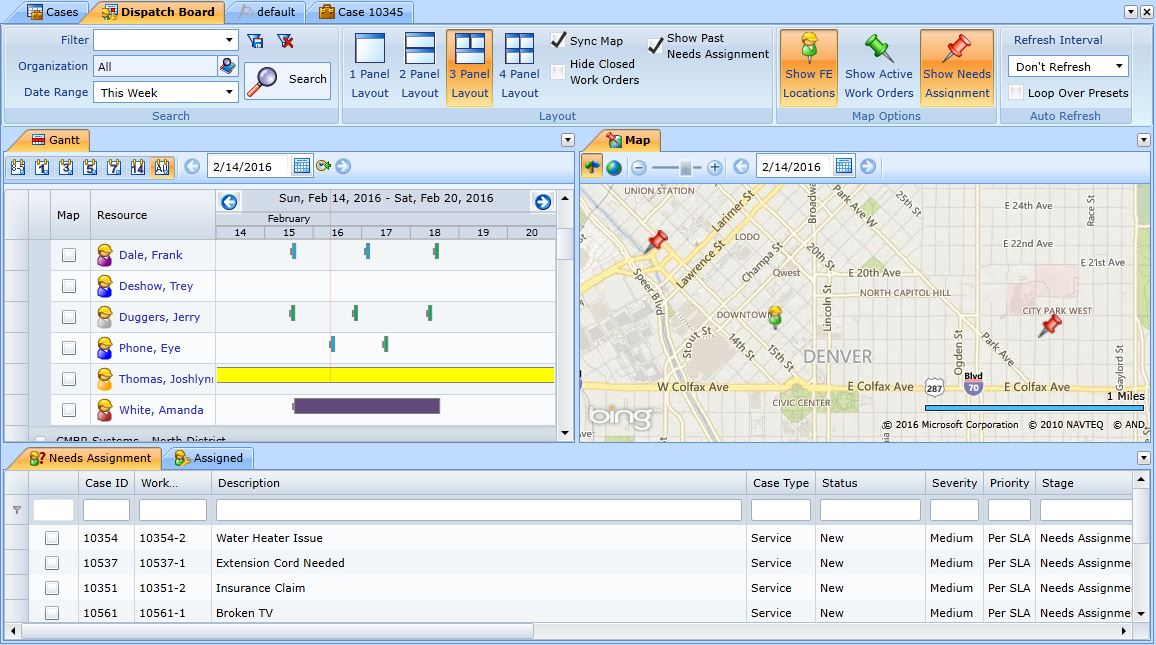 Dispatch Software Picture